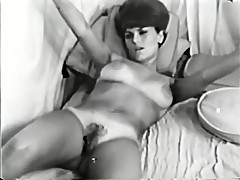 Incredible homemade vintage, straight adult clip