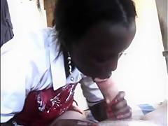 African Massage Blowjob