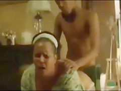 Hardcore with Mom and Son African sex video