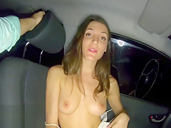 Public Sex in my Car in Buenos Aires, Argentina - MySweetApple