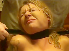 Girl choked with black belt till she passed out