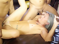 Milf Leilani Lei First Gang Bang