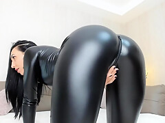 Melissa Sweet Shiny Leggings Camgirl