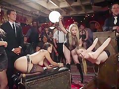 Drooling Electro Slut & The Anal Whore Orgy Pt1 - TacAmateurs