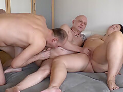 Bisexual Date - Blowjob and Fingers 1