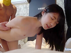 Cute little Teen Nagai Fucks Uncensored Fingered She Spreads Her Pink Then Rides Cowgirl