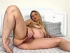 Anikka Albrite Maturbating Solo