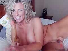 Zeana34g, Milf With Big Tits, Pussy Slap, Dildo Bj