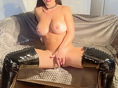Misslexa - Step-mom Humiliates Her Son And Squirts Whi