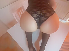 Blonde Is Squirting While Her Ass Gaped And Creampied Table Fuck By Amature Couple