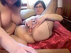 2irki: two Russian mature lesbians