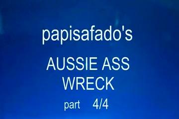 PAPISAFADO'S PRIVATE AUSSIE CUM SCENE AFTER HARD FUCK PART4