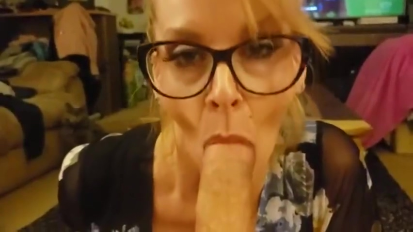 TABOO MILF Cougar Step Mom makes Son Cum with slow Blow Job step fantasy