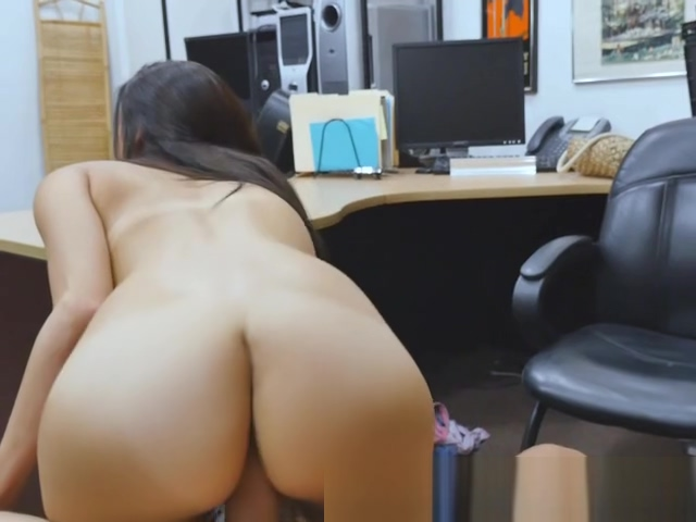 Brunette Beauty Alexis Deen Sucks And Rides In Pawn Shop