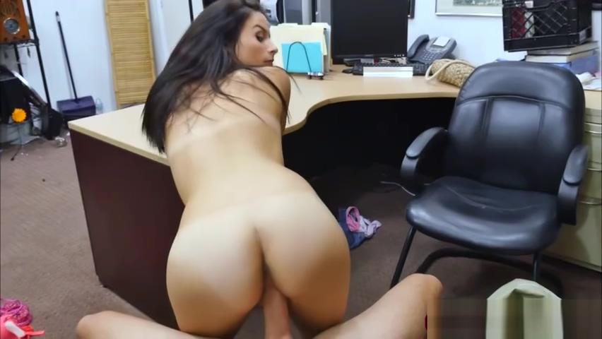 Brunette Alexis Deen ride dudes big fat cock for money