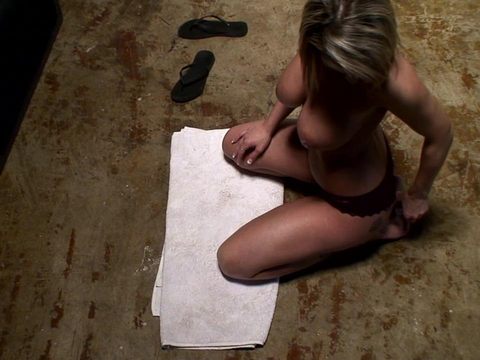 Nikki Sims Topless Footjob