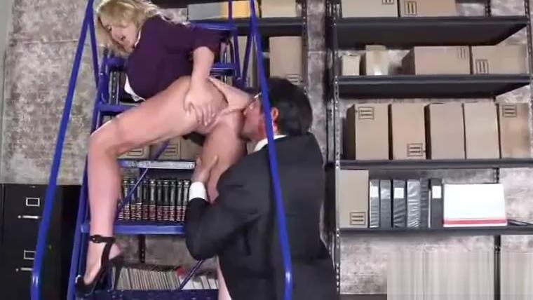 (corinna blake) Busty Office Slut Girl In Hard Style Bang movie-10