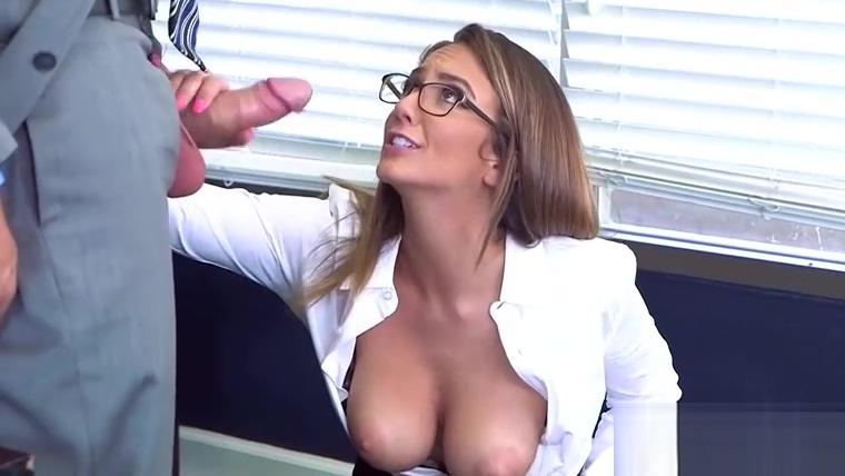 (Layla London) Naughty Slut Big Tits Girl Get Nailed In Office vid-22
