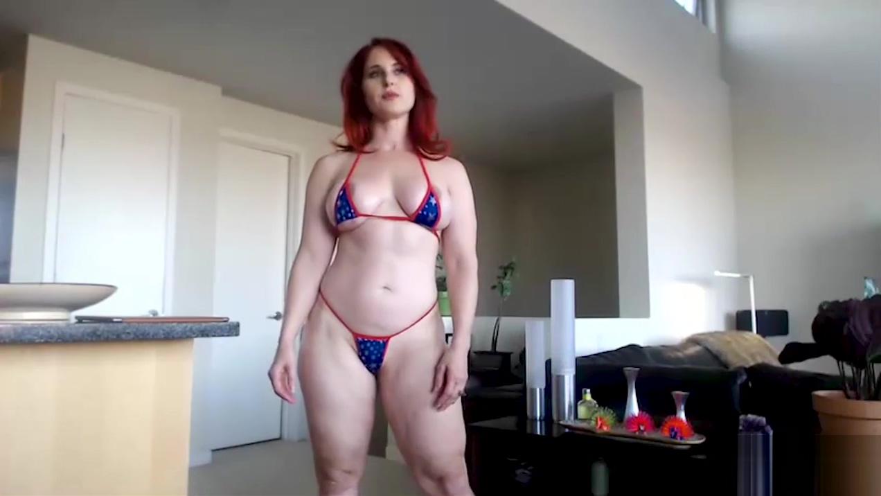 CamSoda - Andrea Rosu muscled pornstar redhead babe